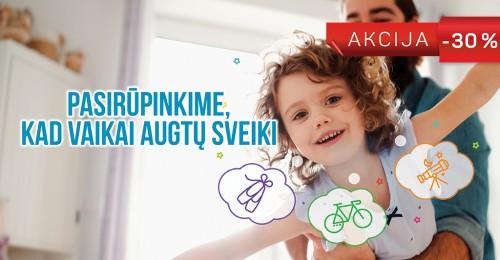 Akcija vaiko sveikatos ištyrimo programoms