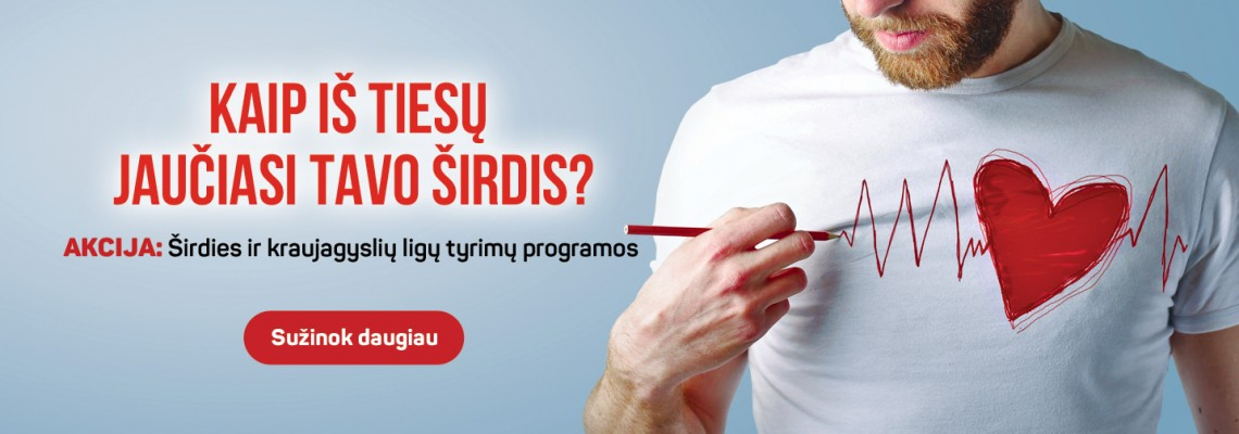 Širdies ir kraujagyslių tyrimų programa