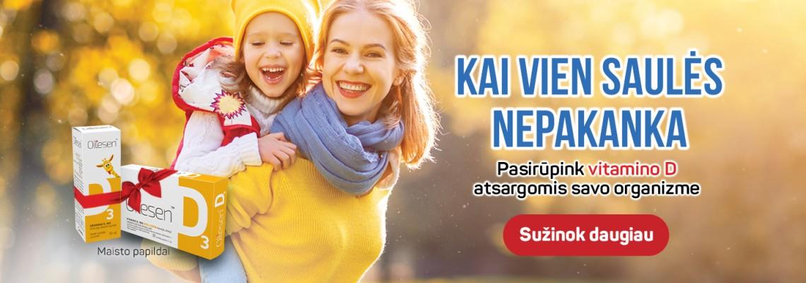 Specialus pasiūlymas Vitamino D tyrimui + dovana!
