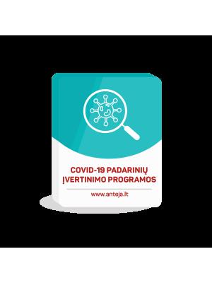 Covid-19 padarinių įvertinimo programos
