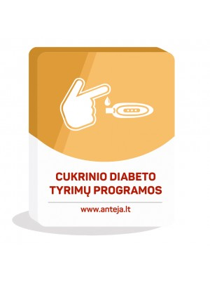 Cukrinio diabeto tyrimų programos