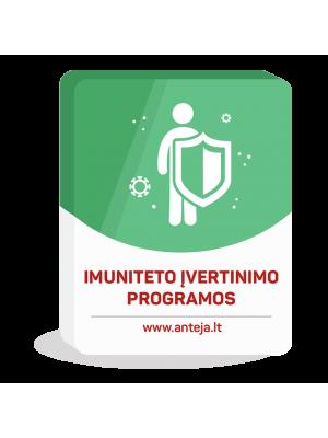 Imuniteto įvertinimo programos