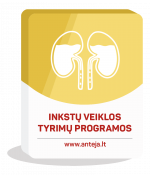Inkstų veiklos tyrimų programos