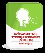 Kvėpavimo takų tyrimų programos (dusulio)