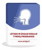 Lėtinio ir ūmaus kosulio tyrimų programos
