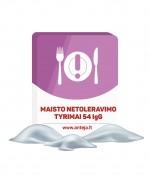 Maisto netoleravimo tyrimas 54 IgG