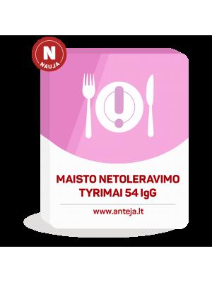 EUROIMMUN Maisto netoleravimo tyrimas 54 IgG