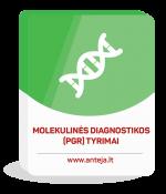 Molekulinės diagnostikos (PGR) tyrimai