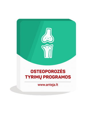 Osteoporozės tyrimų programos