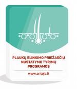 Plaukų slinkimo priežasčių nustatymo tyrimų programos