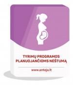 Tyrimų programos planuojančioms nėštumą