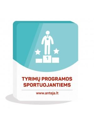 Tyrimų programos sportuojantiems