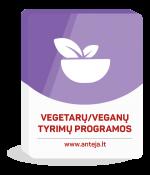 Vegetarų arba veganų tyrimų programos