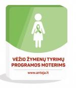 Vėžio žymenų tyrimų programos moterims