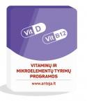 Vitaminų ir mikroelementų tyrimų programos